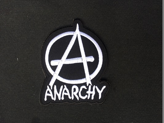 Anarchy Logo Band Music Embroidery Iron On Patches 50 Pcs Great
